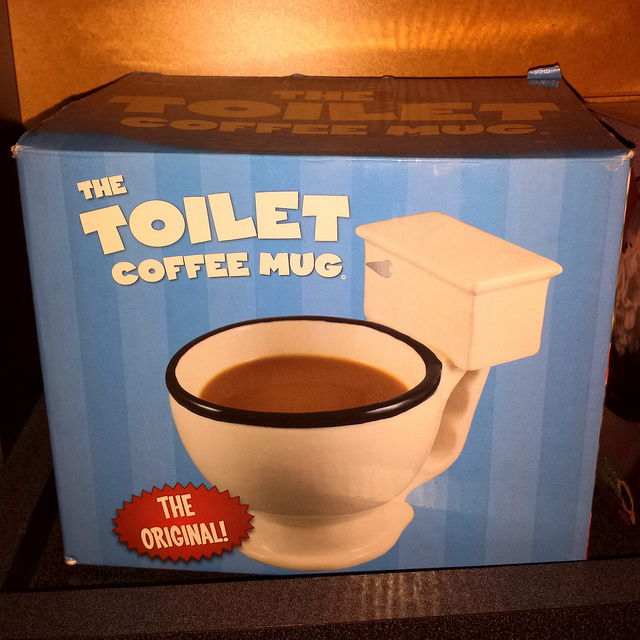 Toilet Shaped Coffee Mug