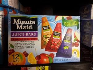Minute Maid Juice Bars, 12 pack
