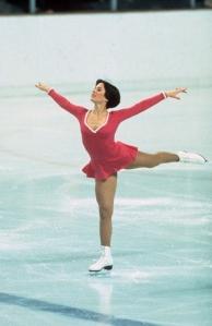 Dorothy Hamill on ice