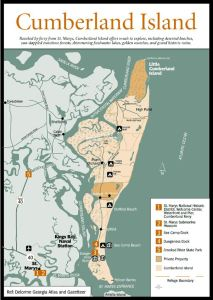 Map of Cumberland Island