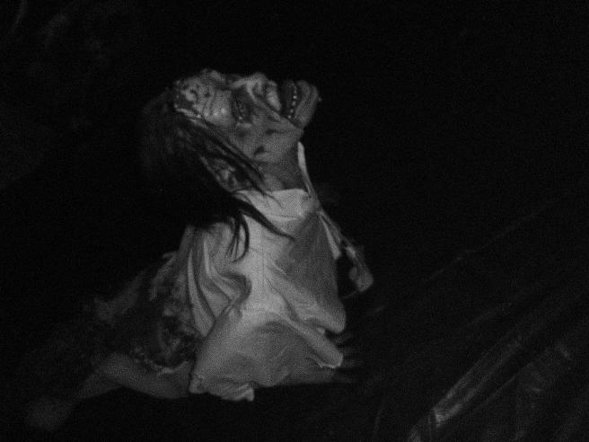 Zombie robot follows people around